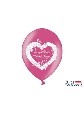 """Balony """" Szczęść Boże Młodej Parze"""""""