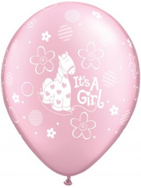 Balon metalik IT'S A GIRL