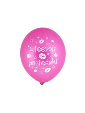 Balon różowy na wieczór panieński