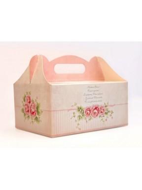 Pudełko na ciasto różane