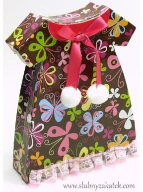 Pudełko sukienka małe