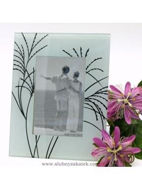 Ramka na zdjęcia szklana 10x15
