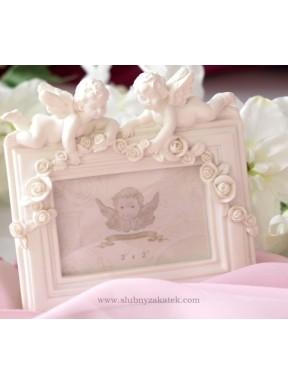 Ramka z aniołkami