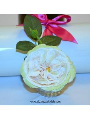 Róża w wazoniku