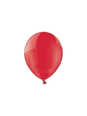 """Balony 5"""", pastel czerwone"""