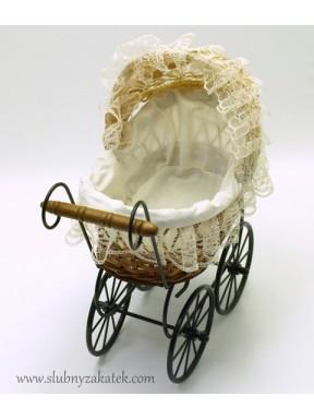 Wózeczek beżowy mały