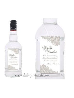 Zawieszka na alkohol LISTKI