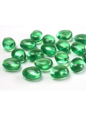 Kamienie kryształowe, zielone
