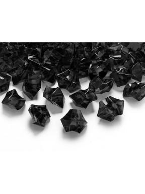 Kryształki lodu, czarne