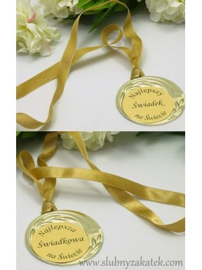 Medal złoty dla świadków