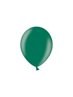 """Balony 10"""", metalik ciemna zieleń"""