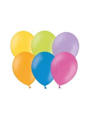 """Balony 10"""", Pastel Mix"""