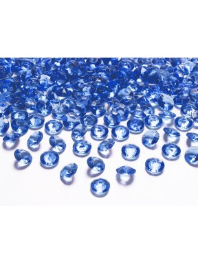 Diamentowe konfetti granatowe, 100 szt