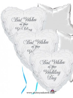 Balon foliowy Wedding Day
