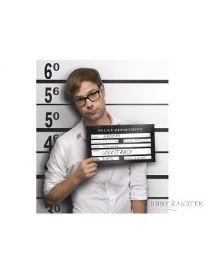 Tabliczka do zdjęć Aresztowany