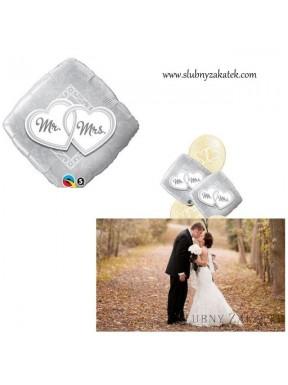 Balon foliowy Mr & Mrs