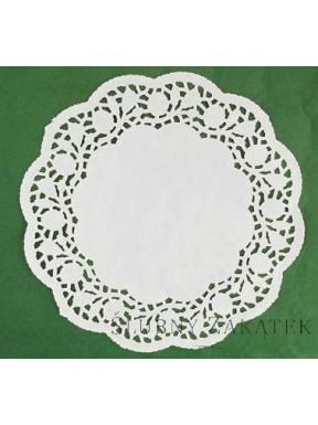 Serwety papierowe okrągłe