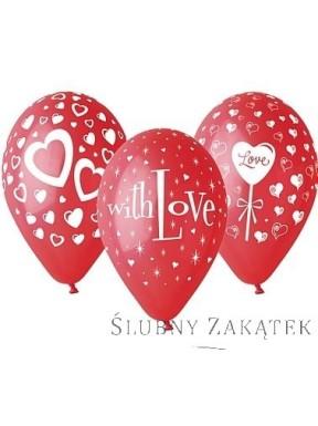 Balony LOVE