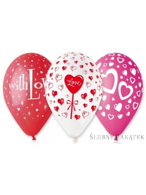 Balony Miłosne 25 szt
