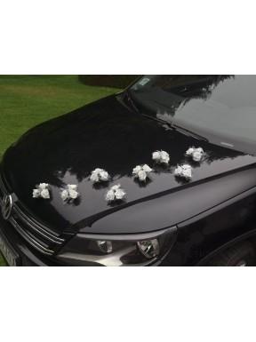 Bukieciki Róże na samochód
