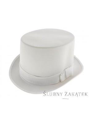 Cylinder damski biały
