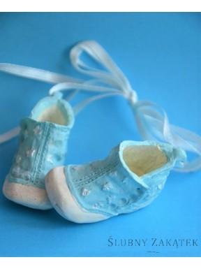 Buciki ceramiczne niebieskie