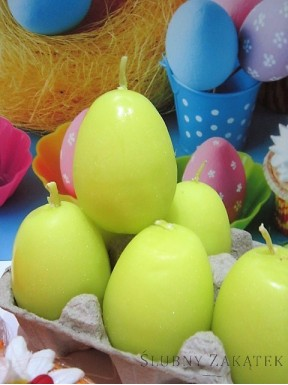 Świeczki jajka