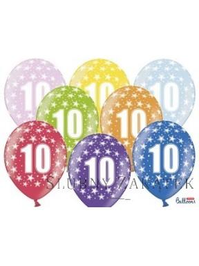 Balon z nadrukiem- cyfry
