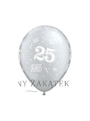 Balony 25 urodziny