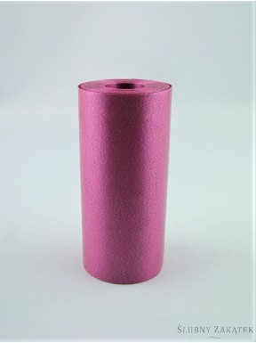 Wstążka pastelowa 14m, różowa