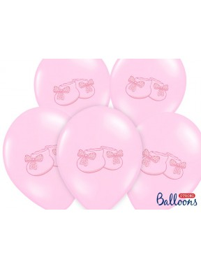 BALON Bucik różowy, pastel