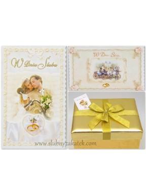 Bileciki ślubne  W Dniu Ślubu