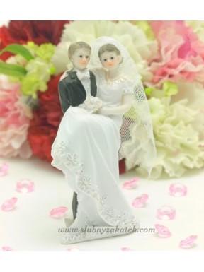 FIGURKA NA TORT Romantycznie