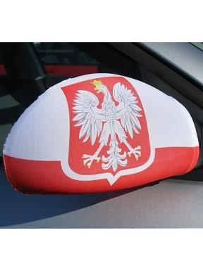 FLAGI NA LUSTERKA Polska, zestaw