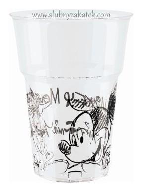 KUBECZKI PLASTIKOWE Mickey Mouse, 8 szt