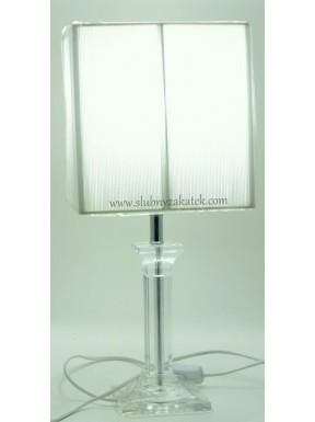 LAMPA OZDOBNA Crystal White