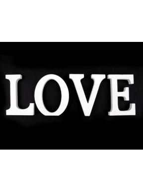 LITERKI DREWNIANE Love