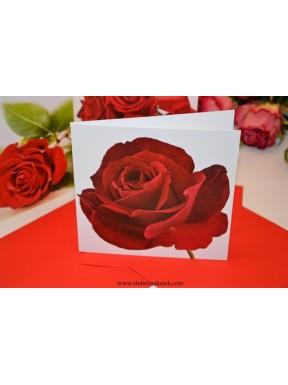 KARTKA OKOLICZNOŚCIOWA Róża - podziękowanie dla Rodziców