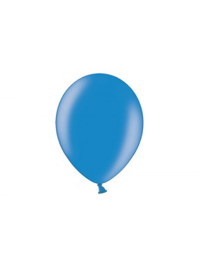 """Balony 5"""", metalik nebieskie, 100 szt."""