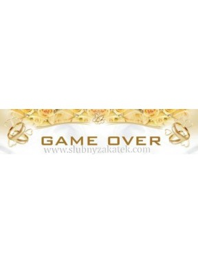 TABLICA REJESTRACYJNA Game Over