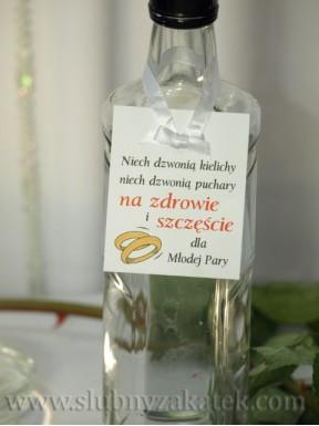 """ZAWIESZKA NA ALKOHOL """"Na zdrowie i szczęscie"""""""