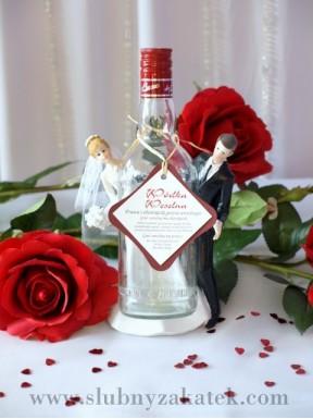"""ZAWIESZKA NA ALKOHOL """"Wódka weselna"""""""