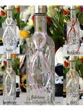 ZAWIESZKA NA ALKOHOL Klasyczna, fioletowa