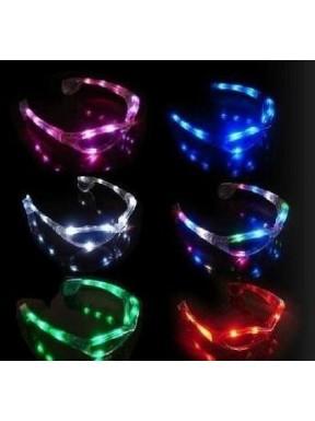 Świecące okulary na baterie