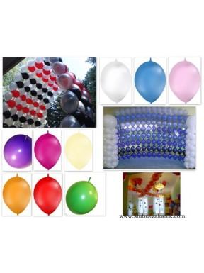BALONY DO GIRLAND mix kolorów, pastel 50 szt