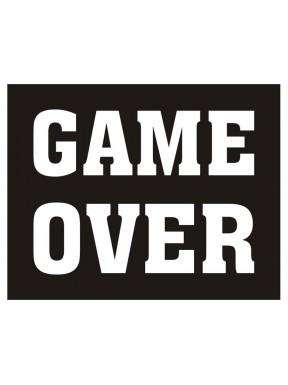 """NAKLEJKI NA BUTY """" Game over"""""""