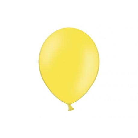 """BALONY 10"""" żółte pastel, 100 szt"""