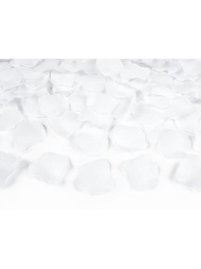 TUBA PŁATKI RÓŻ białe, 60 cm