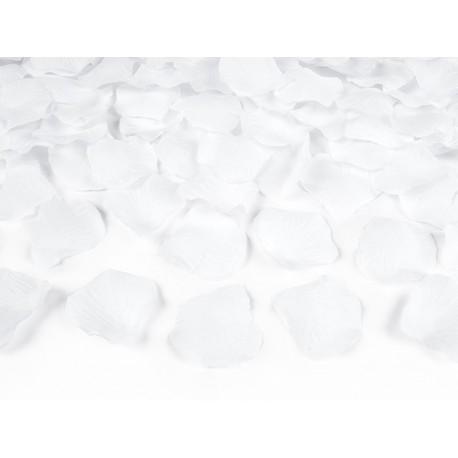 Tuba BIG białe płatki róż
