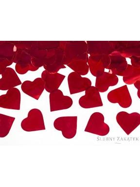 Tuba big serca czerwone
